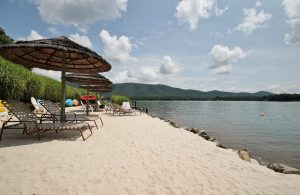 Scenic Beach at 6605 Smith Mountain Drive- For Sale at Smith Mountain Lake