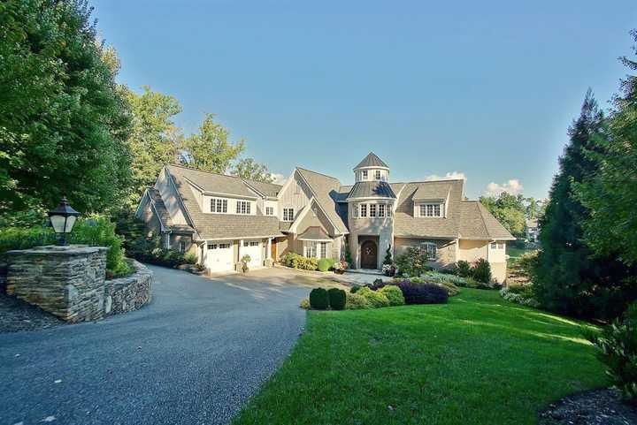 Elegant Lakefront Estate at 140 Blackwater Circle Penhook, VA