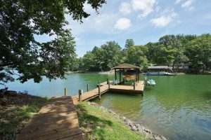 Lake access and dock at 416 Dodee Lane - For Sale at Smith Mountain Lake